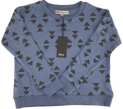 Ny Milk Copenhagen dusty blue sweatshirt str. 122-128