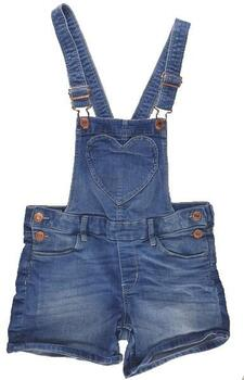 H&M kort overall playsuit i denim str. 140