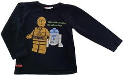 Lego wear sort sweatshirt str. 122