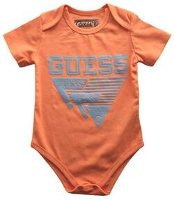Ny Guess orange kortærmet body str. 68