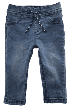 Denim Co blå jeggings str. 6-9 mdr