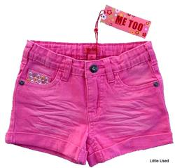 Nye Me Too pink korte shorts str. 116
