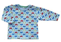 Name it lyseblå baby bluse