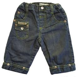 Name it tynde mørke denim babybukser