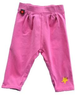 Molo pink baby leggings