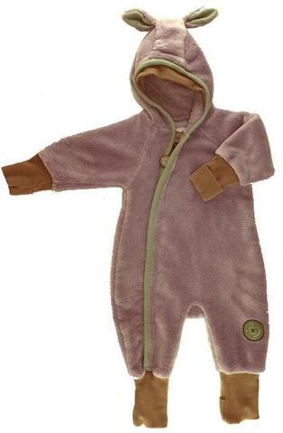 Phister & Philina lavendelfarvet fleece suit str. 56