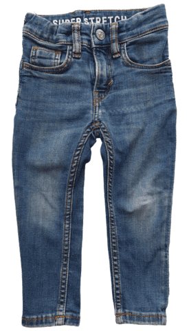 H&M blå denim super stretch bukser str. 92