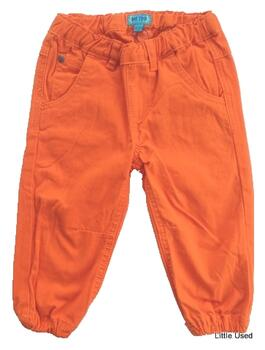 Me Too orange baggy pants
